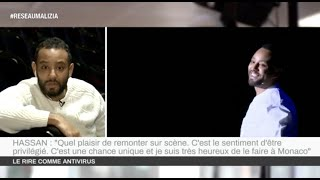 Humour : Hassan de Monaco remonte sur scène