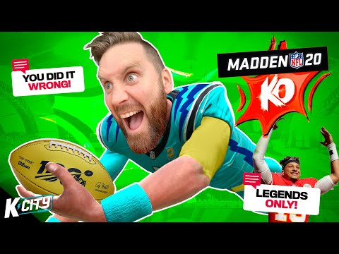 Drafting with VIEWER COMMENTS in KO SUPERSTAR | Madden NFL 20 on K-CITY GAMING |