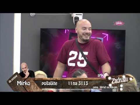 Zadruga 3 - Mirko Gavrić priča da se Nikoli sviđa Nina, a ne Mina - 17.09.2019.