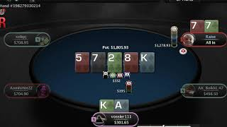 500z ♠ [vossler111 vs king10clubs] ♠ pay me off |18 3 19