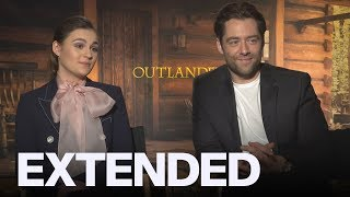 Sophie Skelton and Richard Rankin Love Their 'Outlander' Fans | EXTENDED