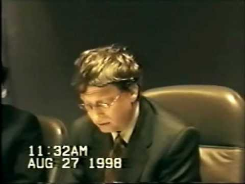 United States v. Microsoft: Deposition by Bill Gates, part 2.