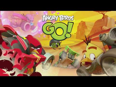 Angry Birds GO! music extended - Races High
