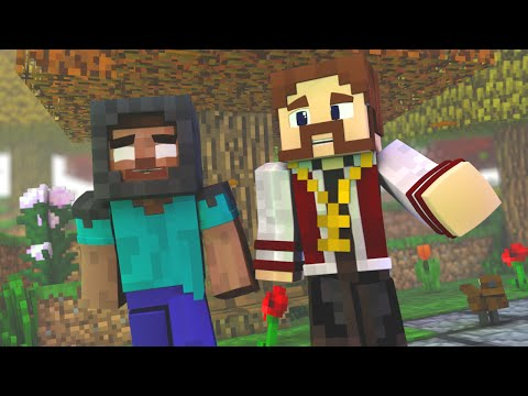 Minecraft: PARAÍSO - #123 HEROBRINE E DORÃN AMIGOS?!