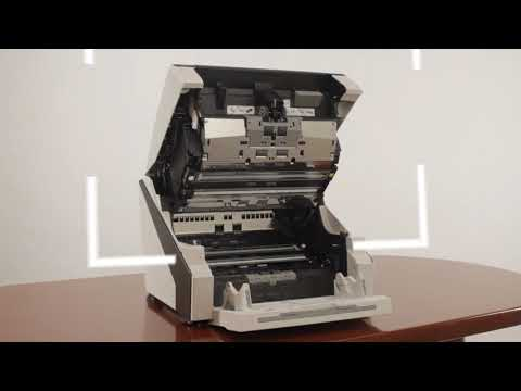 FUJITSU fi-6800 Document Scanner - Routine Cleaning