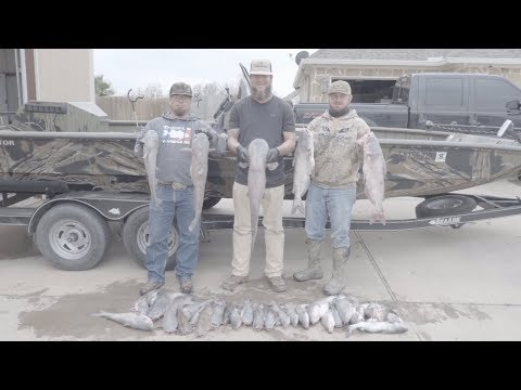 Jug Lining BLUE CATS In Texas!!