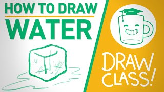 How to Draw Water - DRAW CLASS