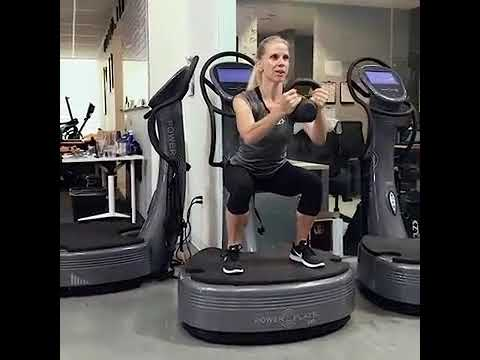 Power Plate Move of the Week   SKLZ Whole Body Workout Compilation