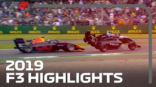 2019 FIA Formula 3 Season Highlights