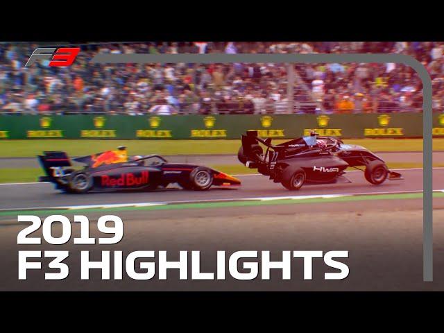 2019 FIA Formula 3 Season Highlights