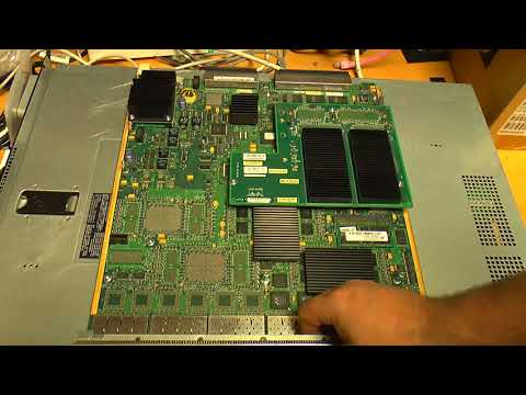 Cisco Catalyst 6513 (6500 Series) Network Switch Teardown