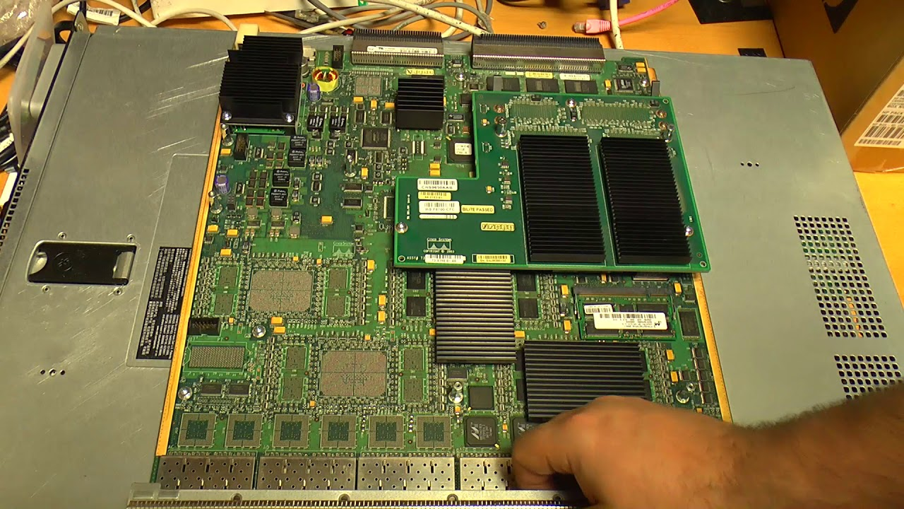 Cisco Catalyst 6513  6500 Series  Network Switch Teardown