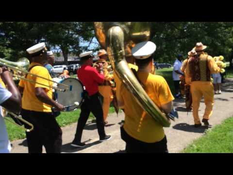 Treme Brass Band, Washington Park, Chicago (6/11/16)