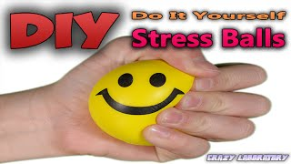 DIY Super Cool Squishy Stress Ball! How to Make The Coolest Stress Ball! Balloon lifehack