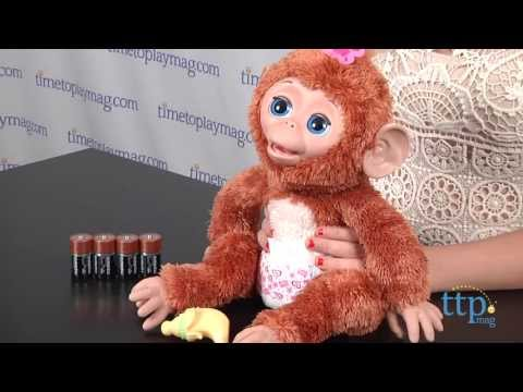 Furreal Friends Cuddles My Giggly Monkey From Hasbro Youtube