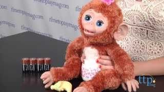 FurReal Friends Cuddles My Giggly Monkey from Hasbro