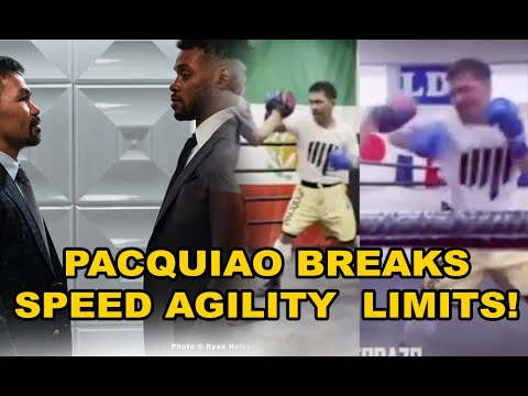 Manny Pacquiao July 12, 2021 Training Update  - Pacman breaks speed limits!