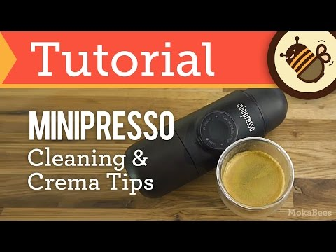 Minipresso GR - Cleaning & Crema Tips