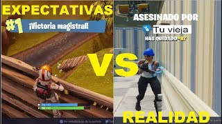 This is why I don't raise Fortnite -_- My Expectations vs My Reality