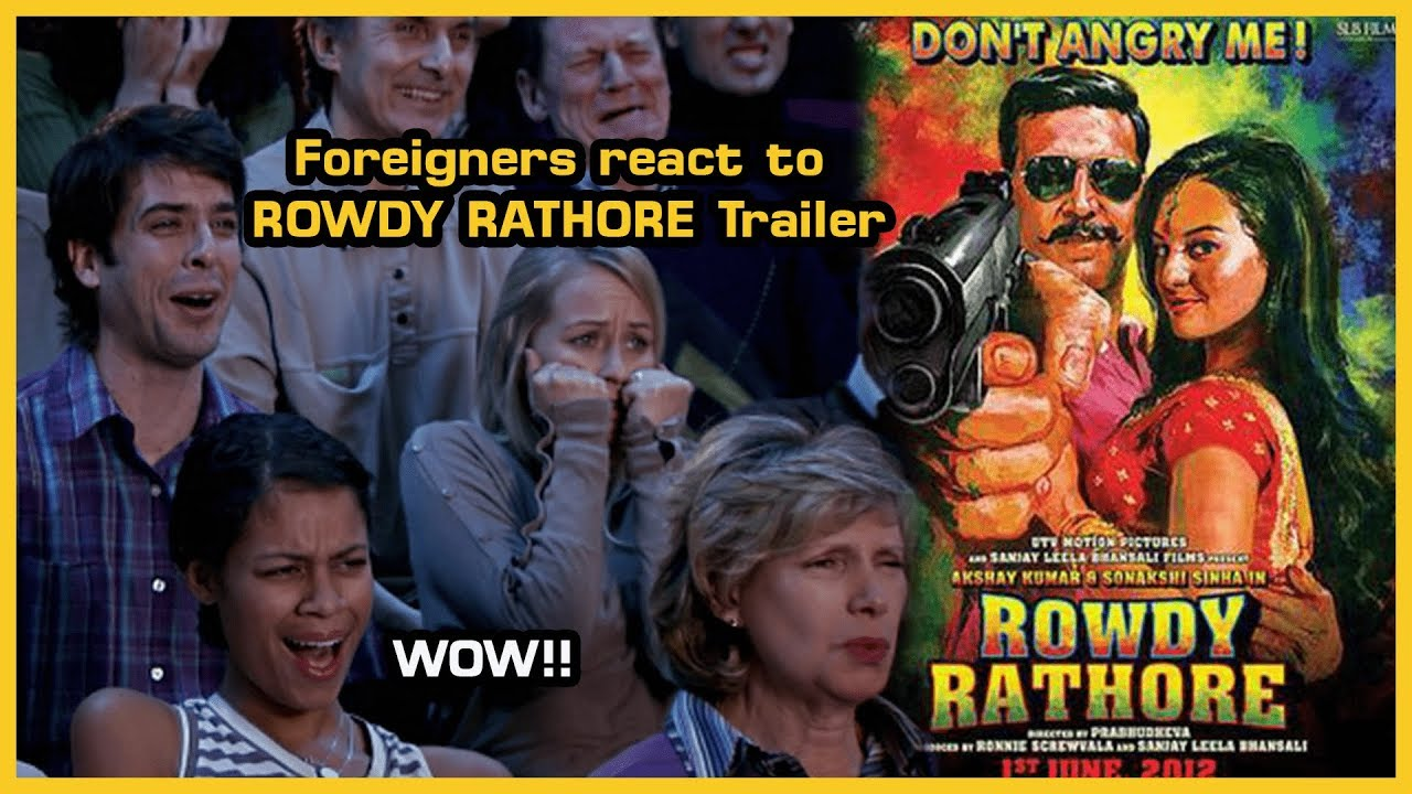 Foreigners reaction to ROWDY RATHORE Trailer | Akshay Kumar