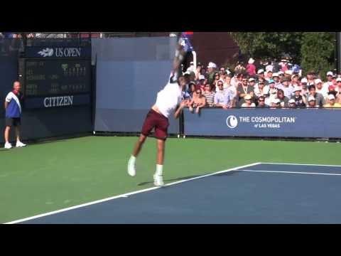 Nishikori vs Cilic - US Open 2010
