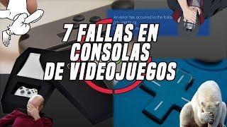 Top 7: PEORES ERRORES EN CONSOLAS DE VIDEOJUEGOS