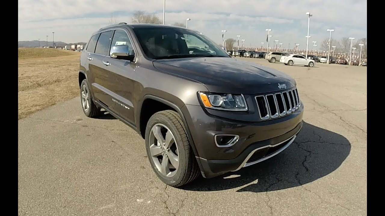 Jeep grand cherokee limited  granite crystal new jeeps indianapolis in also rh youtube