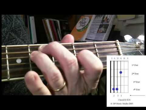 Chord B Sus Youtube