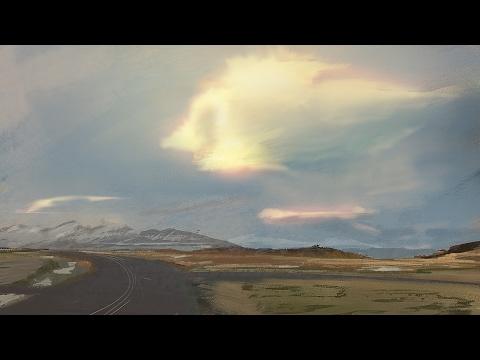 Moody Landscape Speedpainting