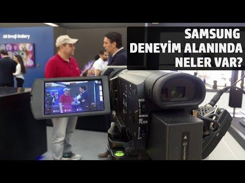 Samsung'un İstinye Park'ta Yer Alan Deneyim Alanına Gittik