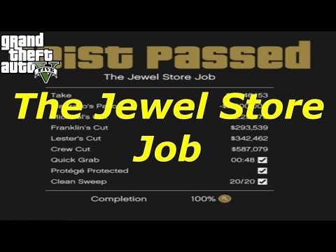 [GTA 5] PC - How to Get Max Money Guide(Tutorial): The Jewel Store Job (Heist 1)