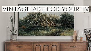 Vintage Art Slideshow for your TV | 1hr of 4K HD Paintings.