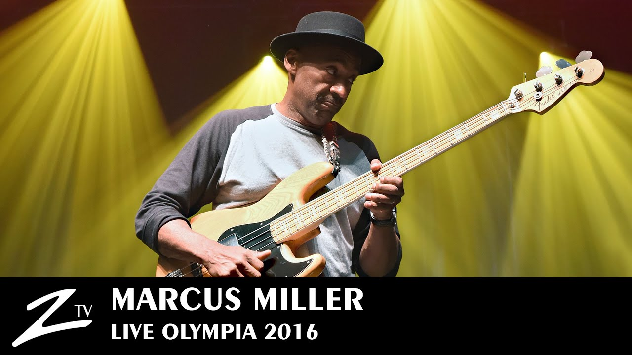 Marcus Miller | Tutu & Blast - Olympia 2016 - LIVE HD