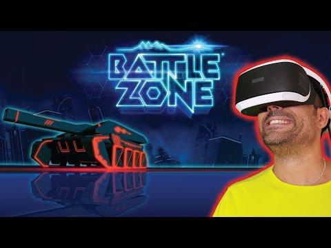 BATTLE ZONE - PLAYSTATION VR Gameplay en español   Tanques en Realidad Virtual
