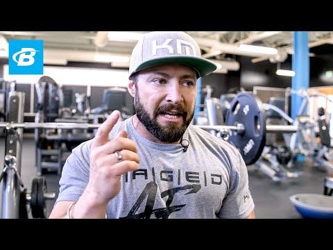 Kris Gethin's 5 Pre-Workout Rituals for achievement