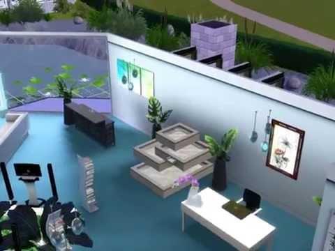 Sims 3 modern haus 9 gro e moderne villa ultra modern hous for Sims 3 salon moderne