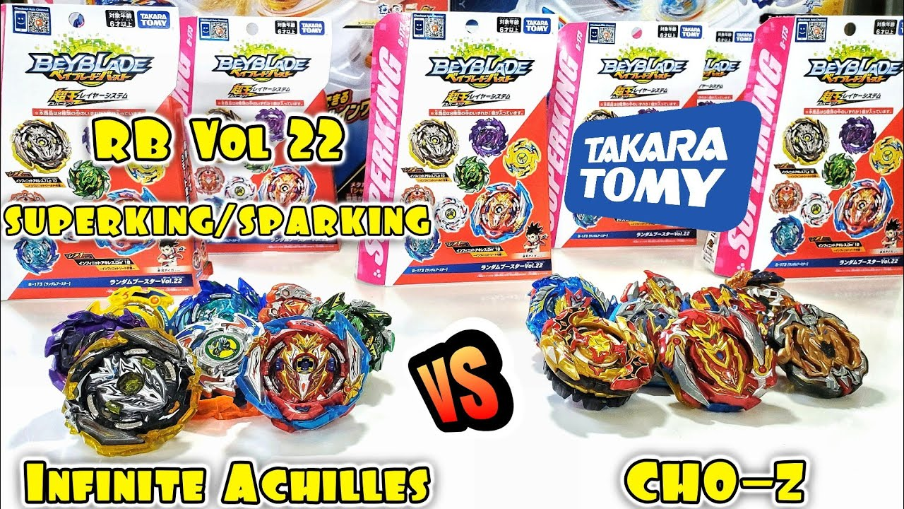 AuthenticTakara Tomy Beyblade B-173 01 Infinite Achilles Dimension/' 1B