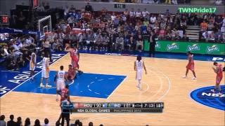Jeremy Lin林書豪 Full Highlights | Manila, Philippines | Rockets火箭队 vs Pacers步行者队 |10.10.2013