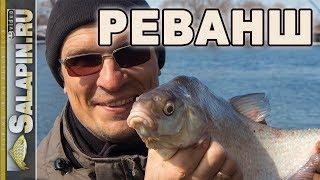 Рыбалка с фидером весной на Москва-реке: реванш! [salapinru]
