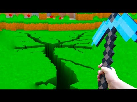 Realistic Minecraft vs Minecraft In Real Life