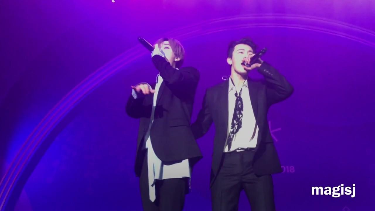 Download 180224 평창 헤드라이너쇼 SJ-D&E_Growing Pains, Still You, I Wanna Dance, Oppa Oppa Eunhyuk Donghae (Full)