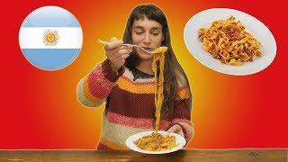 STRANIERI mangiano RAGÙ ITALIANO per la prima volta - thepillow