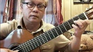 Nhớ Nắng (Hoàng Bảo Tuấn - thơ: Nguyễn Minh Phượng)[1979]  - Guitar Cover