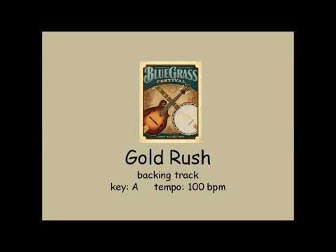 Gold Rush  - bluegrass backing track
