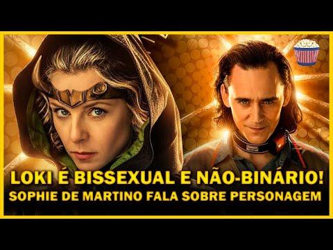 Loki é BISSEXUAL e NÃO-BINÁRIO! Sophie Di Martini fala sobre Sylvie e representatividade