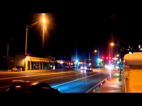 Blake hunt driving down the strip at sbn