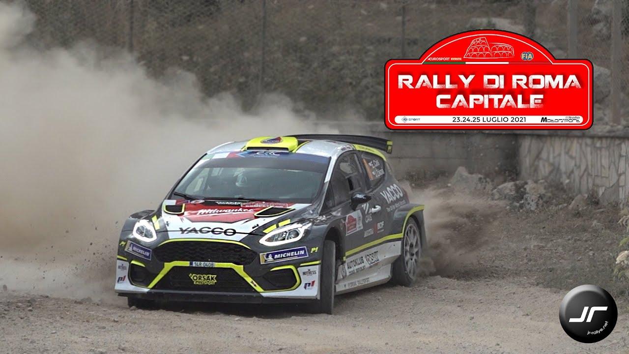 Rally di Roma Capitale 2021   #ERC   Show & Max Attack    @JR-Rallye