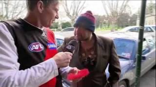 The Footy Show - Street Talk - Bendigo (04/08/2011)