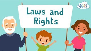 Teaching Laws, Rights and Responsibilities to Kids | Freedom of Speech | Kids Academy