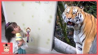 공주 마법의 방 속에 이상한 일이? 꾸러기 유니 마법사 ! 사자 공룡 나왔어요 ♡ 마법 장난감 놀이 Magic Wand Room | 말이야와아이들 MariAndKids